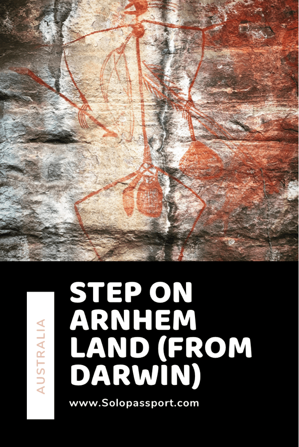 PIN for later reference - Step on Arnhem Land