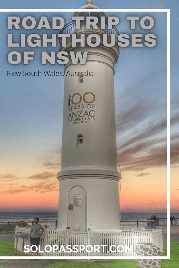 PIN for later reference - Road trip to the lighthouses in South Coast NSW