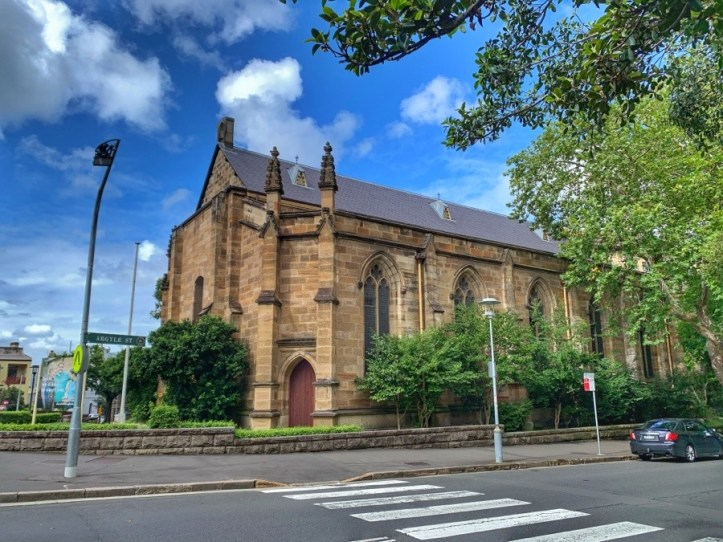 Garrison Church -Colony History Walk - The Australian Hotel to Dawes Point