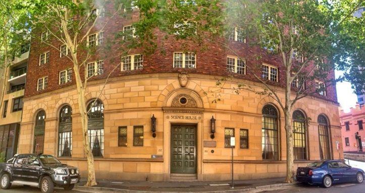 Sydney History Walk at the Rocks - Science House