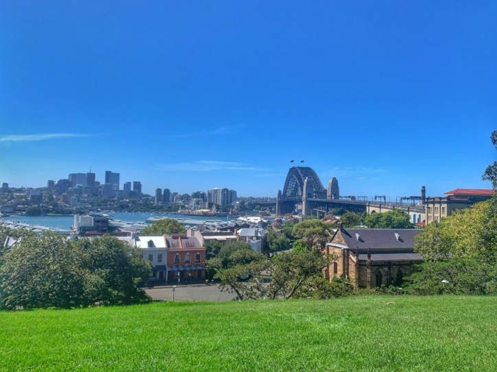 Sydney History Walk at the Rocks - Observatory Hill