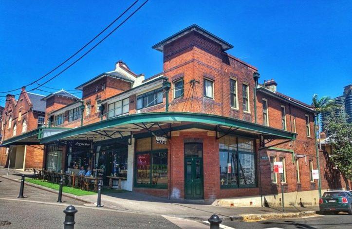 Sydney History Walk at the Rocks - Argyle Bar