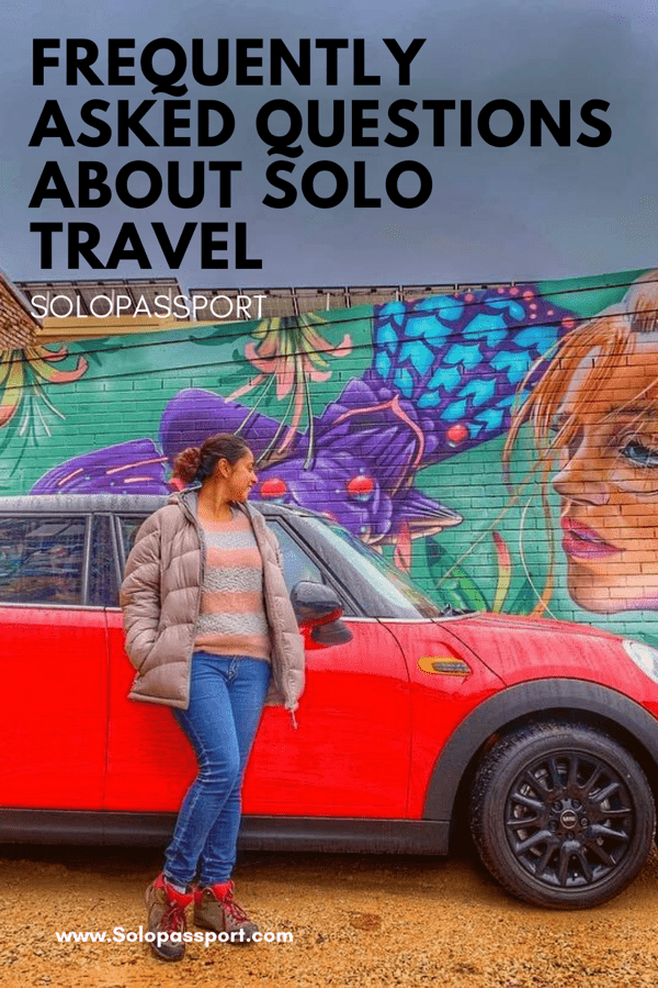 PIN for later reference - Frequently asked questions about solo travelling