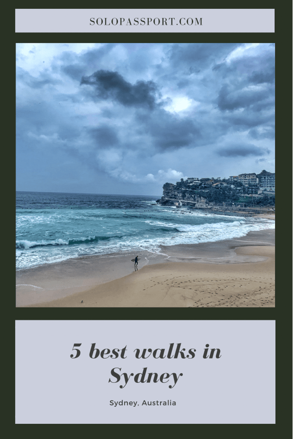 PIN for later reference - 5 one day walks in Sydney