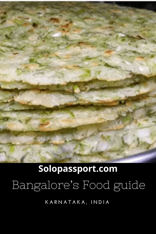PIN for later reference - Bangalore's food guide