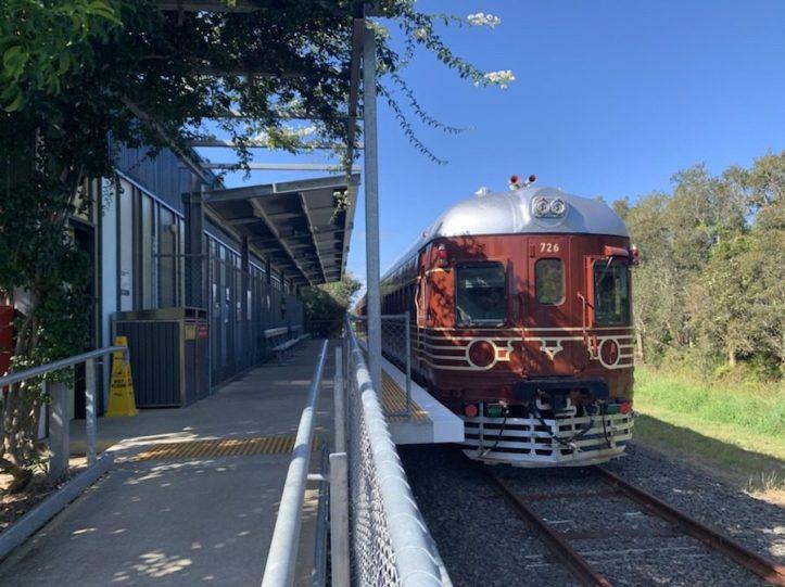 Solar Train ride