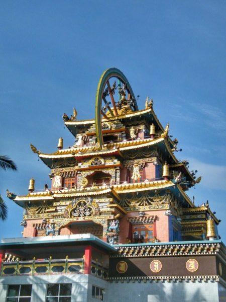 Tibetian Golden Monastery