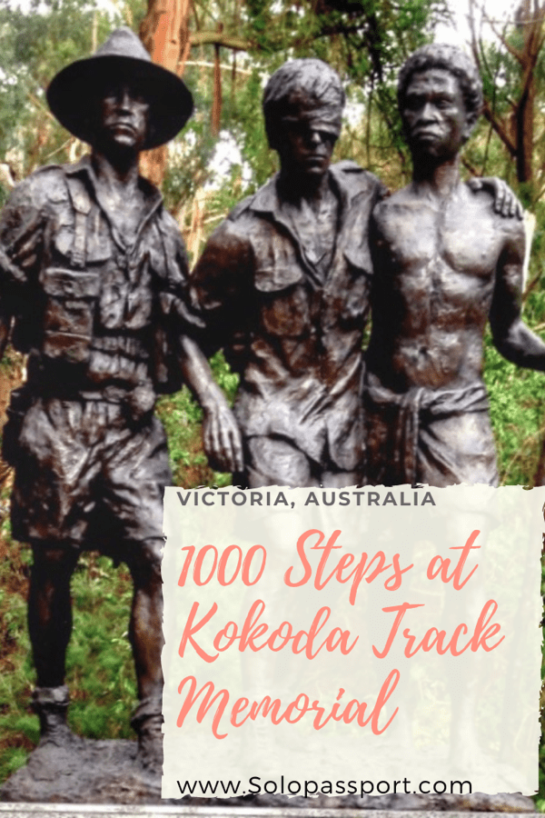 PIN for later reference - 1000 Steps at Kokoda Track Memorial