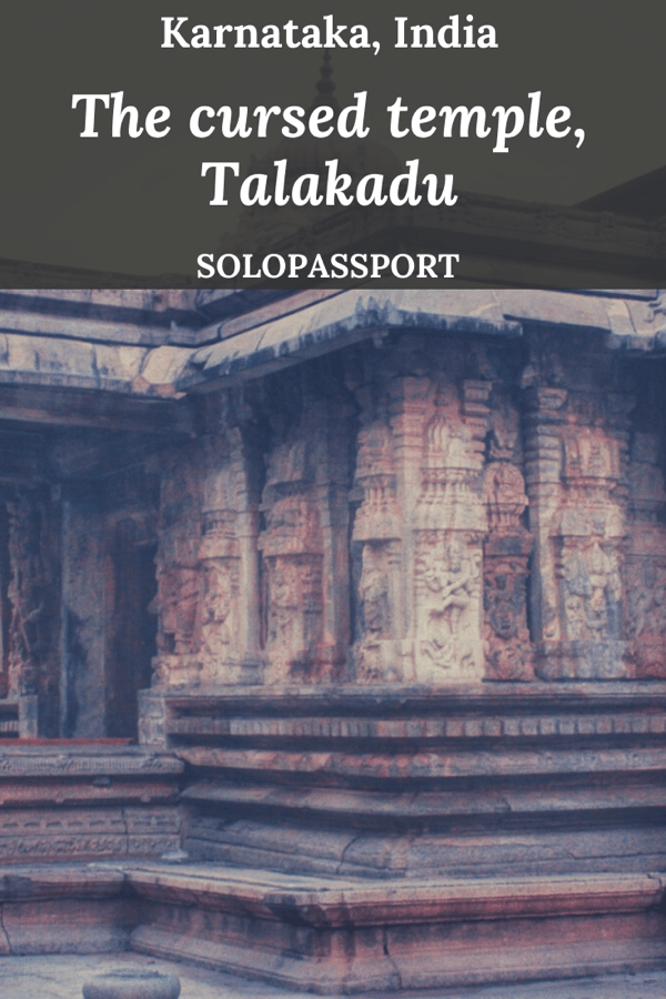 PIN for later reference - The cursed temple, Talakadu