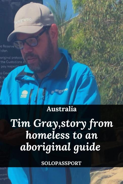 PIN for later reference - Tim Gray, from being homeless to an aboriginal guide