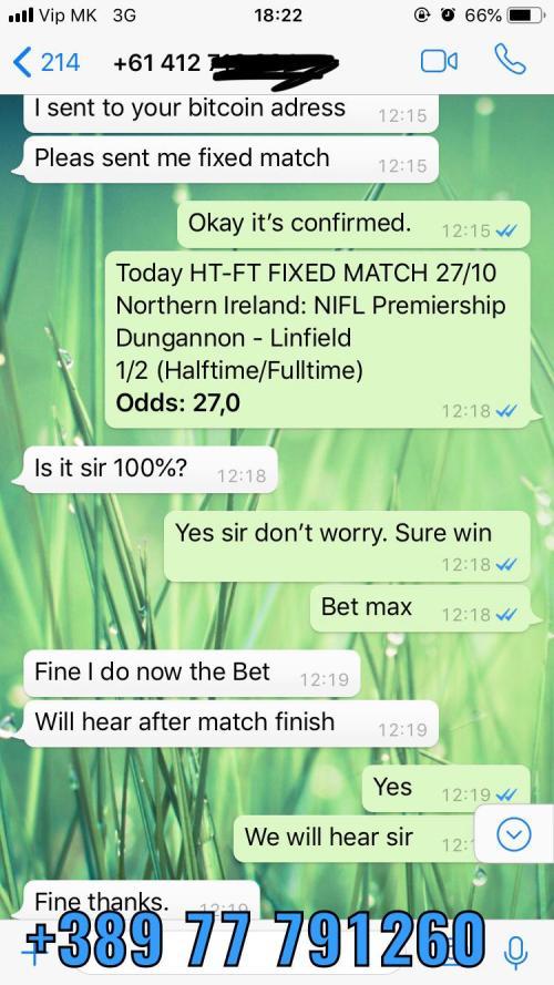 2 1 fixed matches won