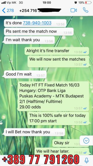 fixed matches ht ft 30 odd