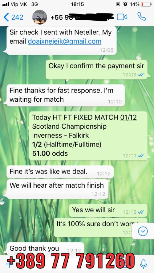 real fixed matches 01 12