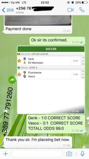 SURE FIXED MATCHES SOLOBET