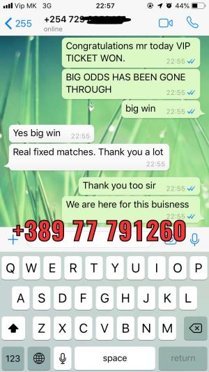 vip ticket fixed matches 100