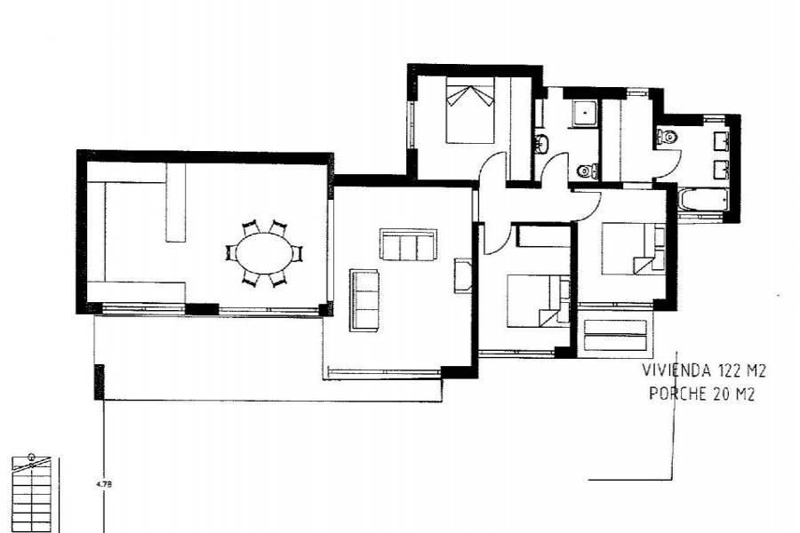 Pedreguer,Alicante,España,3 Bedrooms Bedrooms,2 BathroomsBathrooms,Chalets,32004
