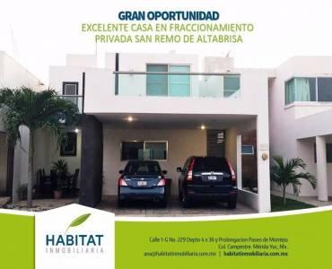 Mérida,Yucatán,Mexico,3 Bedrooms Bedrooms,3 BathroomsBathrooms,Casas,3922