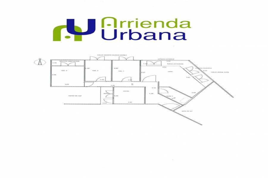 Elche,Alicante,España,3 Bedrooms Bedrooms,1 BañoBathrooms,Apartamentos,39493