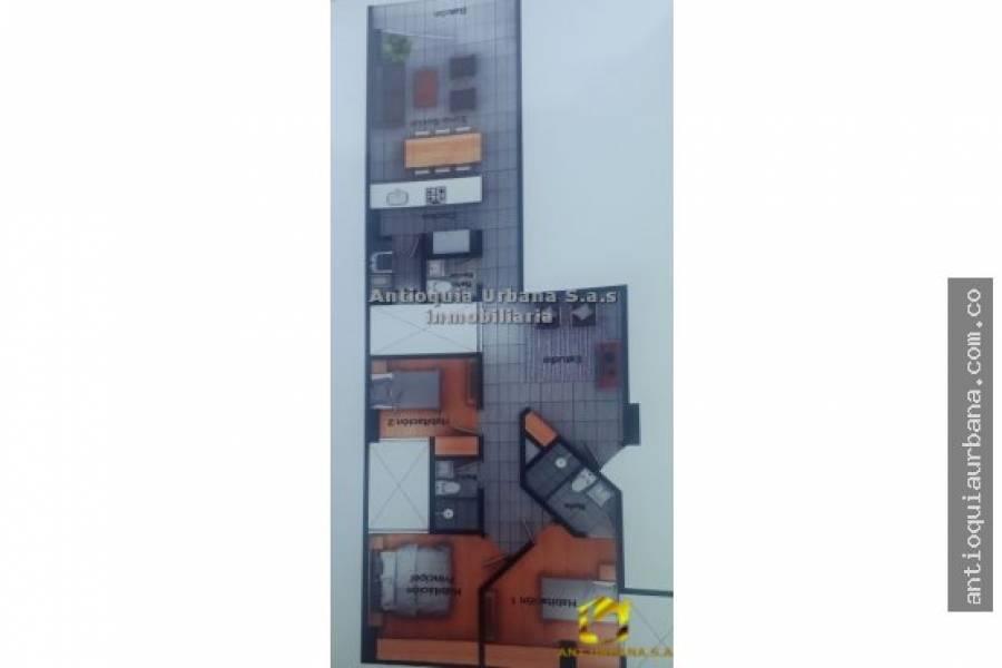 Envigado, Antioquia, Colombia, 3 Bedrooms Bedrooms, ,3 BathroomsBathrooms,Apartamentos,Venta,CARRERA 34,41007
