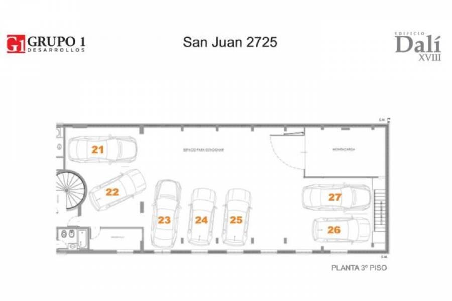 Rosario,Santa Fe,Cocheras,San Juan,3,1489