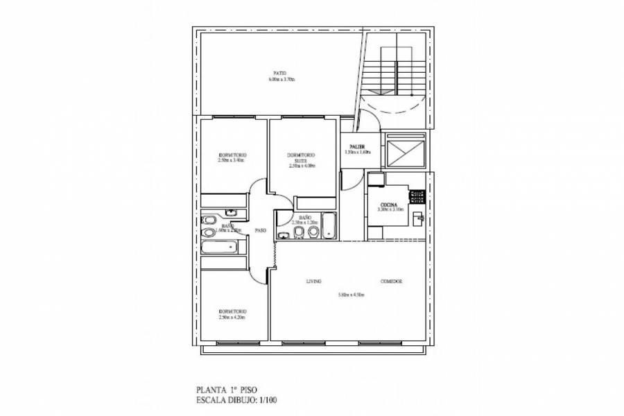 Rosario,Santa Fe,2 Habitaciones Habitaciones,1 BañoBaños,Departamentos,La Internacional 6,Av. Francia,7,1619