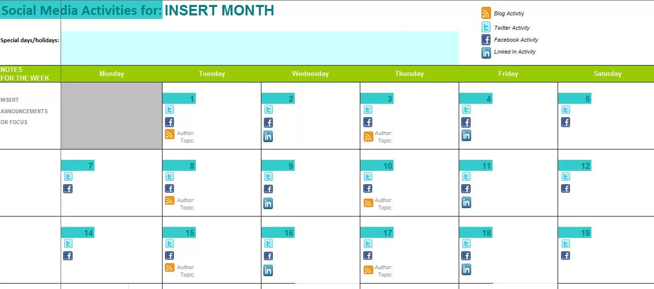Most support dei, but don't know how to implement it. The Best Content And Social Media Calendar Templates Solo Pr Pro