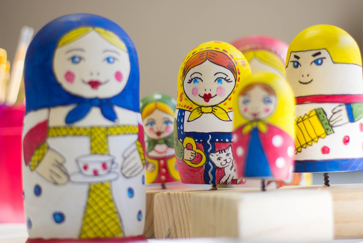 "2013 -September 14 – Workshop "" Matreshka"" in Russian Language"