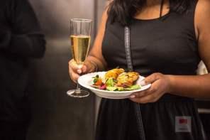 Salat und Empanadas - Bildquelle Miriam Ritler