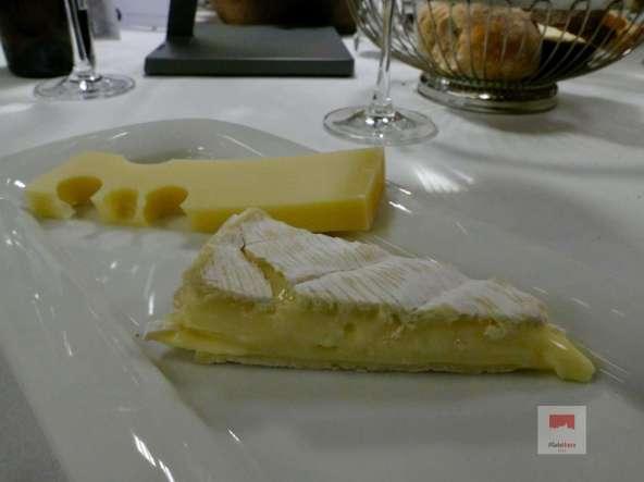 Zum abschliessen etwas Käse - Bildquelle Martin Rechsteiner