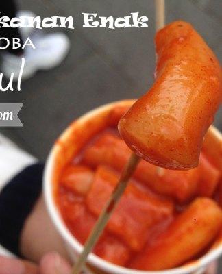 Makanan Wajib Coba di Seoul