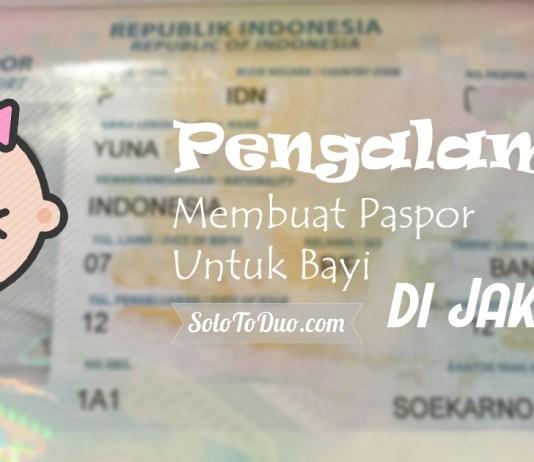 Membuat Paspor Untuk Bayi