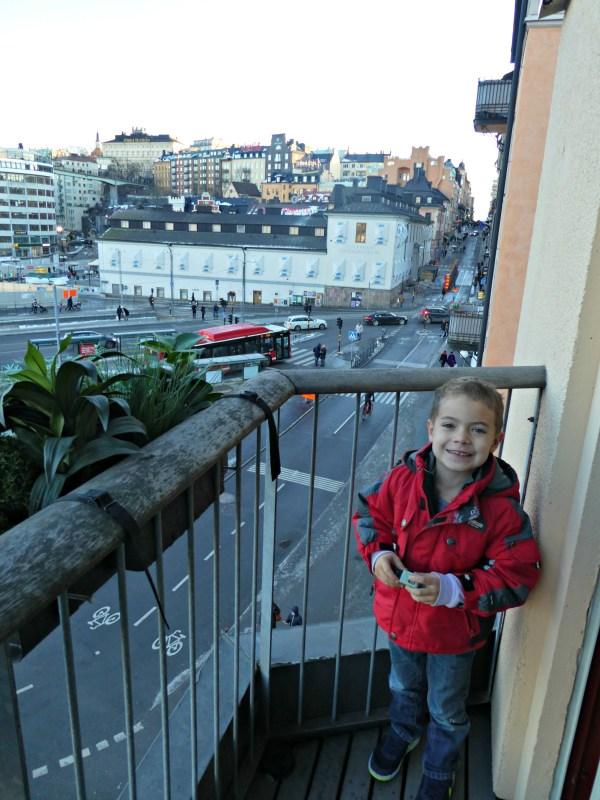 Hilton Stockholm Slussen balcony