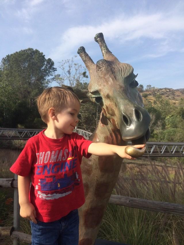 Kids Free San Diego Safari Park 2014-04-19