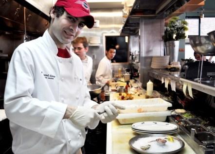 Chef Anthony Polizzi, Steelhead Diner, Seattle, Wash., April 2010