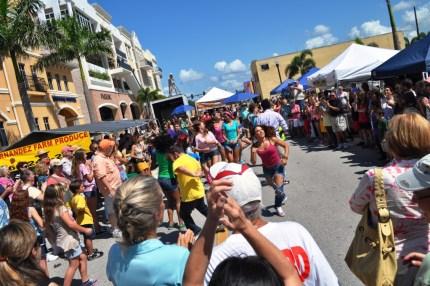 Flash Mob at the Punta Gorda Farmer's Market, June 18, 2011
