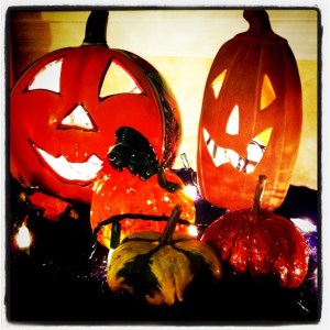 My Way Cool Pumpkin on the Left is from Pottery Express in Punta Gorda, Fla.