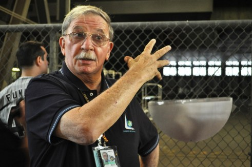 Our Guide on Nov. 25, George Hoggard Who Retired After 42yrs at Kennedy Space Center. Awesome Guy!