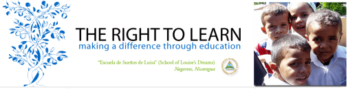 Travel to Nicaragua with Right to Learn, http://therighttolearn.org