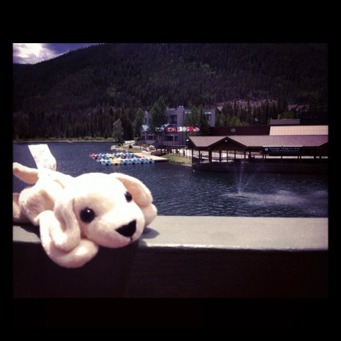 View from the Room at Keystone Resort - Lakeside Accommodations