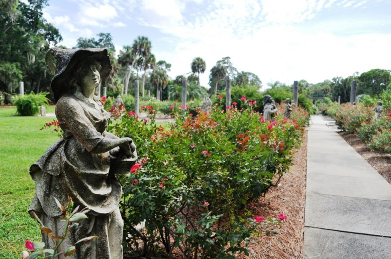 Rose Garden of The Ringling in Sarasota
