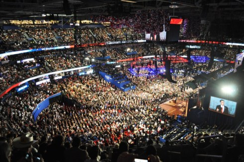 GOP Presidential Candidate Mitt Romney Accepting His Nomination During the Republican National Convention in Tampa, Fla., Aug. 30, 2012