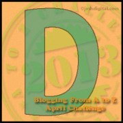 """Thursday, April 4, is Brought to You by the Letter """"D"""""""
