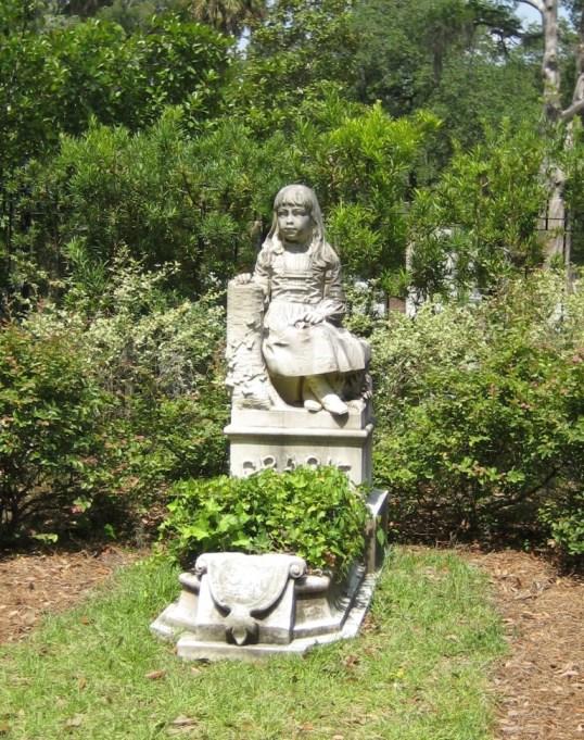 Little Gracie Watson Gravesite at Bonaventure Cemetery, Savannah, Ga.