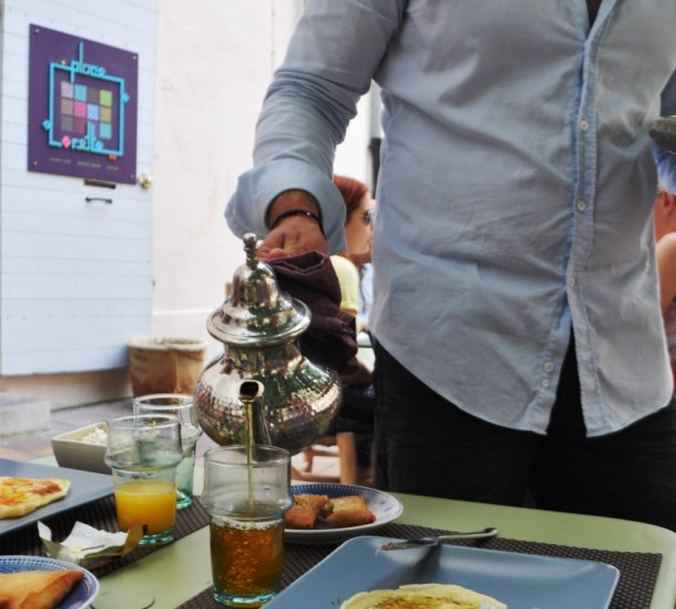 Sunday Brunch Begins with a Sweet Peppermint Tea at Place Lorette in Le Paneir, Marseille's Oldest Neighborhood