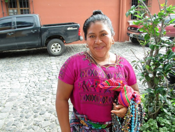 Clara, a Smart and Witty Businesswoman in Antigua, Guatemala, May 2014