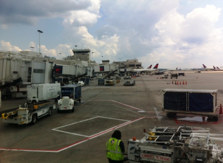 Delta Terminal at the Hartsfield–Jackson Atlanta International Airport
