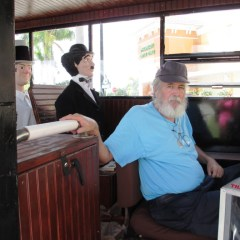 Sometimes, a Good Story is in Your Backyard. Rick and His Antique Bus