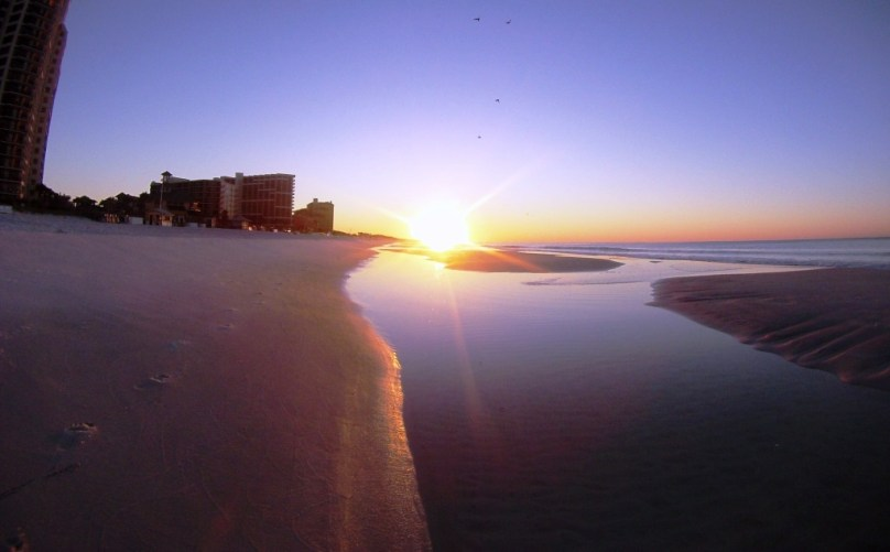 Sunrise at the Sandestin Golf and Beach Resort. Can You Picture Yourself Here?