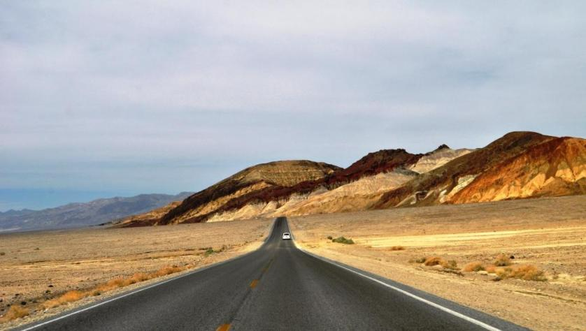Driving Through Death Valley National Park