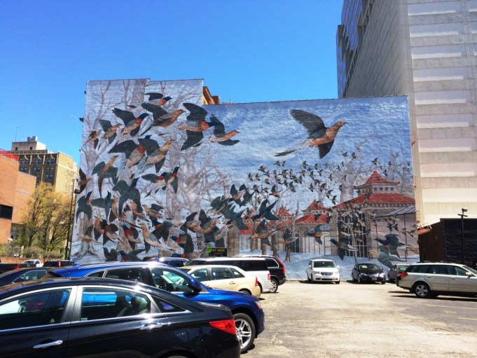 One of Several Murals in Cincinnati Supported by ArtWorks, April 2016.